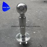 Casquillos compatibles giratorios del tri trébol de la bola dos del aerosol del CIP