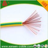 Alambre de cobre constructivo BVV/alambres eléctricos Bvr de Strander de la sola base del cable eléctrico