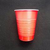 مستهلكة [16وز] [بس] بلاستيكيّة أحمر حزب فناجين