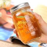 Personalizar el tarro de miel menaje de cocina Jarra de cristal de Mason Mason Atasco pelota Mason Jar Jar
