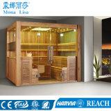 Tipo com vários usuários Luxury 8-10 pessoas Sala de Sauna de madeira (M-6046)