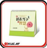 Персонализированный дизайн настольного календаря календаря для управления