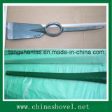 Piqueta de la herramienta de mano de la piqueta con la maneta de madera
