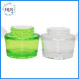 Cosmétique crème en plastique transparent contenant de l'emballage PET jar Cosmétique 50ml