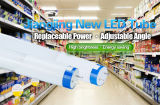 Il tubo di UL/Dlc/CE/TUV 1200mm LED luminosità della garanzia da 5 anni alta scheggia SMD2835 LED