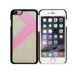 iPhone 7&8-Beige&PinkのためのTデザインパソコンののりPUの携帯電話の箱