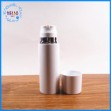 Alles weißer Luxuxzylinder-Plastikflaschen-Haustier