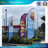 Флаг случая пера лезвия формы ножа рекламируя флаг пляжа (M-NF04F06026)