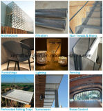 Edelstahl-architektonisches perforiertes Metall für Gebäude-Dekoration