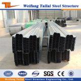Piattaforma di pavimento d'acciaio di alta qualità per la costruzione della struttura d'acciaio