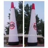 Pilone gonfiabile, torretta gonfiabile, colonna gonfiabile dalla fabbrica della Cina