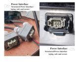 Holo-Нержавеющей машина соединения топления конвейерной PVC/PU охлаженная водой
