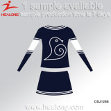 Healong Fresh Design Sportswear sublimation de l'école de filles Cheerleader uniforme