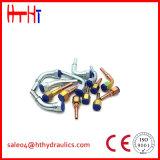 Garnitures de tube hydrauliques étampées d'Eaton de vente chaude d'usine de la Chine