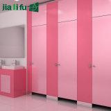 Divisória pura do toalete da estratificação do estojo compato do prédio de escritórios HPL da cor de Jialifu