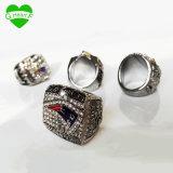 5PCS/Set 2001 2003 2004 2014 2016 anillos de campeonato del Super Bowl de los patriotas de Nueva Inglaterra fijados, regalo del envío de la gota para los amigos