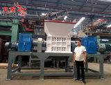 木または材木材料のための大きい生産能力の倍シャフトのシュレッダー