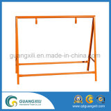 Espessura 1.2 Barricada galvanizado com base tipo U