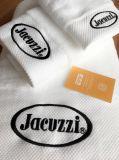 Katoenen van fabriek In het groot 100% Witte Kleur Geborduurde Handdoek