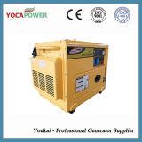 генератор трехфазной молчком силы двигателя дизеля 5.5kw портативный тепловозный