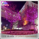 防水クリスマスの装飾透過ワイヤー多彩なLEDストリングライト