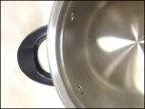 Cookware profondo del POT della minestra dell'acciaio inossidabile