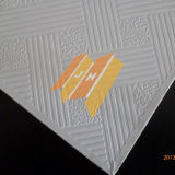 Panneau blanc de plafond de gypse de revêtement de PVC (vers 631)