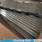 Galvanisé couvrant la feuille, constructeurs de feuille de toiture de zinc de fer