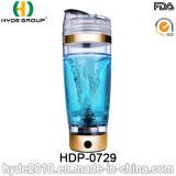Bouteille électrique chaude de dispositif trembleur du plastique 600ml de vente, bouteille de dispositif trembleur de protéine de vortex (HDP-0729)