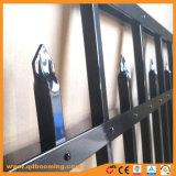 Heißer Verkaufs-flache Oberseite-Aluminiumzaun-Röhrenzaun-Welpen-Zaun