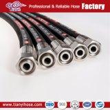 Precio competitivo de Refuerzo de alambre de acero SAE de caucho de alta presión R1 La manguera hidráulica grueso
