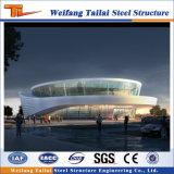 プレハブの軽量の鉄骨構造の体育館鋼鉄スペース格子フレーム