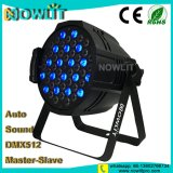 LEDの洗浄の同価軽い54PCS 3W RGBW