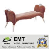 Mobilier de tissu attrayant Salon de loisirs (EMT-LC09)