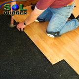 El SGS certificó el suelo de goma acústico de Underlayer