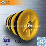 Katrol van de Gids van de Kabel van de Katrolschijf van de douane DIN C45 de Gelaste