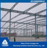 Taller barato de la estructura de acero 2017 con el material de construcción soldado de la viga