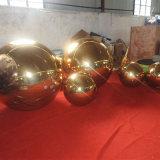 Golden attrayant Fashion Show de boule miroir gonflable en PVC
