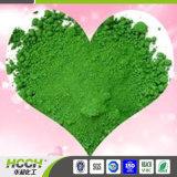 Pigmento verde em pó utilizado em pantufas