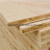 Faisceau blanc chaud Blockboard de Paulownia
