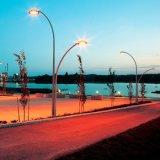 Via di alluminio decorativa palo chiaro