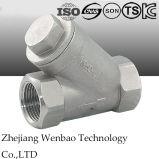 Roestvrij staal 304/316 y-Type Filter met Vrouwelijke Draad