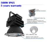 高い発電のHighbayライトは保証5年のDimmable IP65 500W 300W 400W高い湾LEDの据え付け品を防水する