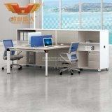 Modernes Möbel-Melamin stellte Vorstand-Büro-Zelle-Arbeitsplatz-Partition gegenüber (H50-0215)