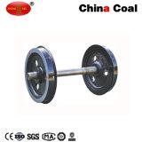 Колеса автомобиля добычи угля Китая минируя колеса фуры рельса