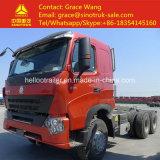 중국 Sinotruk HOWO 디젤 10 타이어 트레일러 트럭 헤드
