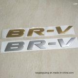 Новые приходя слипчивые стикеры логоса тавра золота мычки Elctroplating