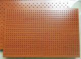 Panneau de mur acoustique Grooved en bois de forces de défense principale