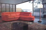 Divan sectionnel en cuir réglé de sofa moderne pour des meubles de salle de séjour