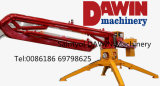 チンタオSaintyol Dawinの機械装置Hgy13 15 17mのトレーラー移動式具体的な置くブームの専門の製造業者の製造者